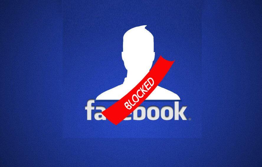 facebook blocked account