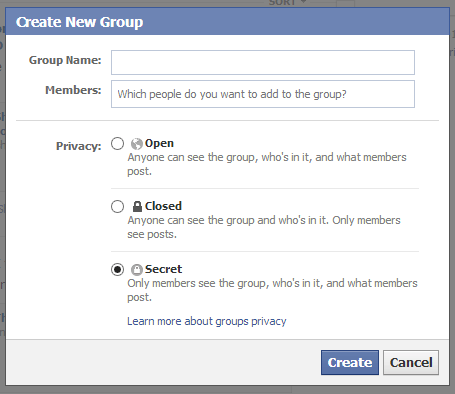 Facebook Open Group overview